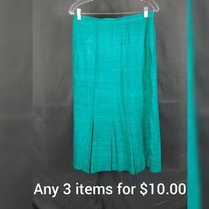 VTG  silk skirt size 14